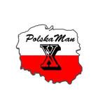 Logo grupy PolskaMan Triathlon